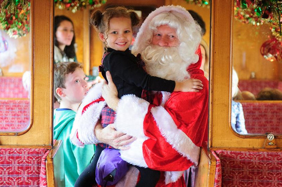 Santa Specials on The Watercress Line