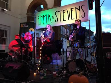 Emma Stevens completes 12-hour Sing-A-Thon For Children In Need