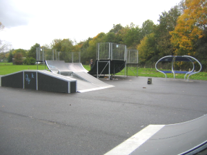 Leatherhead Leisure Centre Skate Park